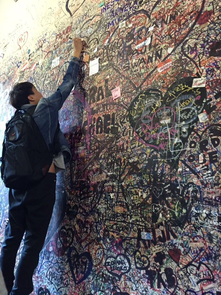 Verona Wall of love bis