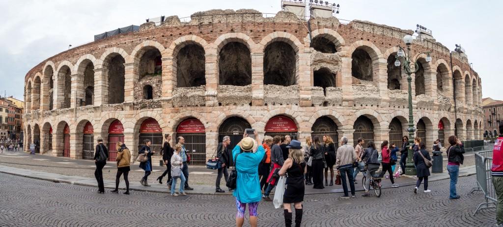 Verona arena pano