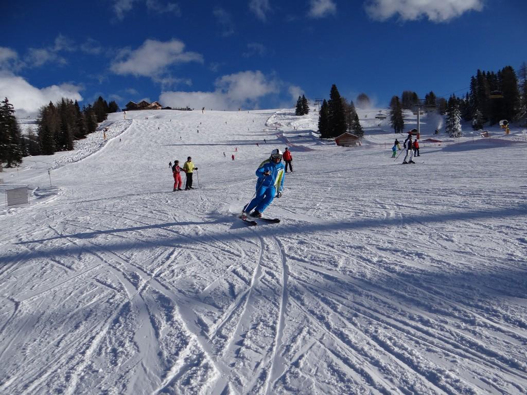Ski blauw
